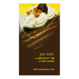 Panadería, tarjetas de visita de las plantillas de