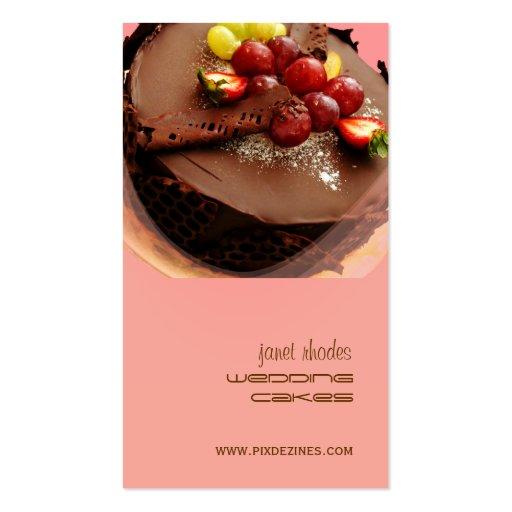 Panadería, tarjetas de visita de los panaderos
