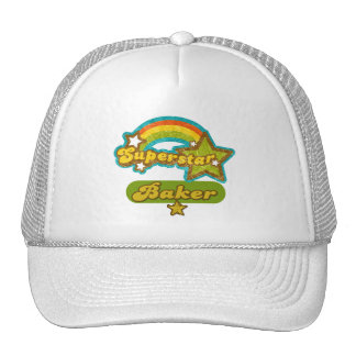 Panadero de la superestrella gorras de camionero