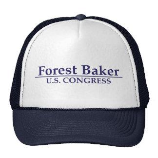 Panadero del bosque para el congreso de los E.E.U. Gorra