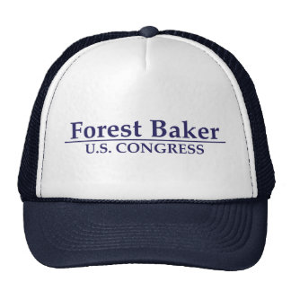 Panadero del bosque para el congreso de los E.E.U. Gorros