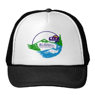 Panadero del Mt - logotipo del bosque del Estado d Gorras De Camionero