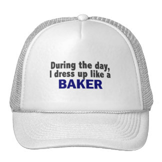 Panadero durante el día gorro
