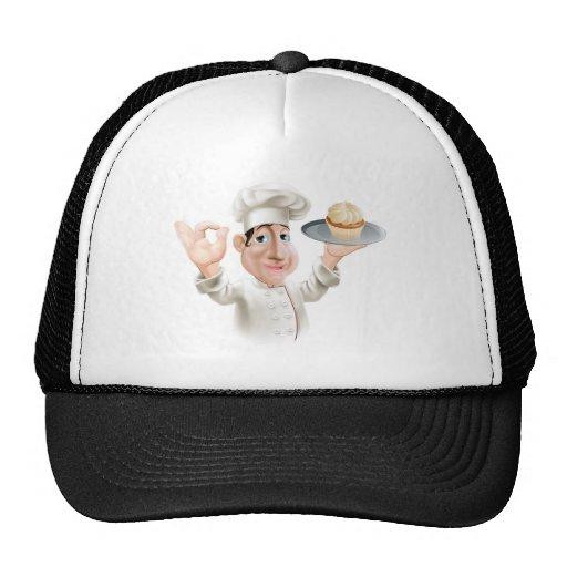 Panadero feliz gorros