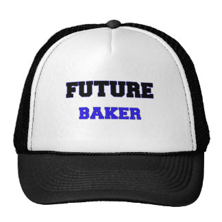 Panadero futuro gorros bordados