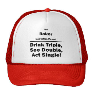 panadero gorra