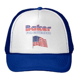 Panadero para la bandera americana patriótica del  gorra
