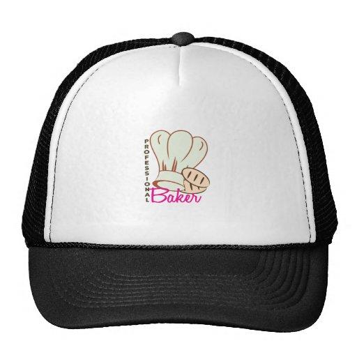 Panadero profesional gorros