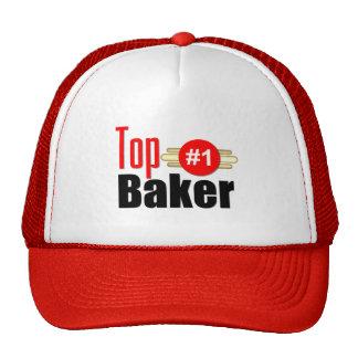 Panadero superior gorras