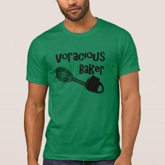 Panadero voraz - camisa divertida para el chef de