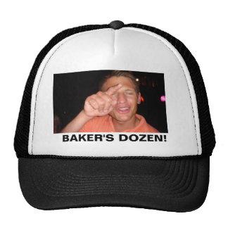 ¡Panaderos docena! Gorros