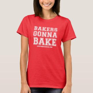 Panaderos que van a cocer la camisa - impresión