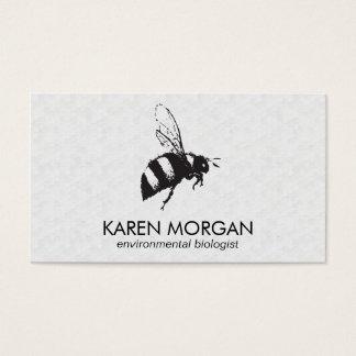 Panal de la abeja el | tarjeta de negocios