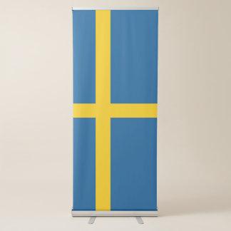 Pancarta Retráctil Bandera de Suecia
