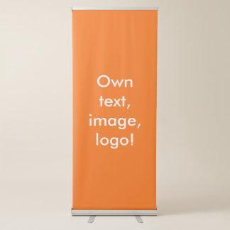 Pancarta Retráctil Naranja retractable vertical de la bandera uni