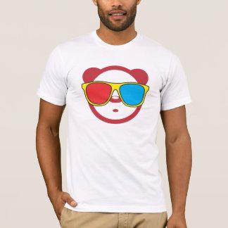 Panda 3D Camiseta