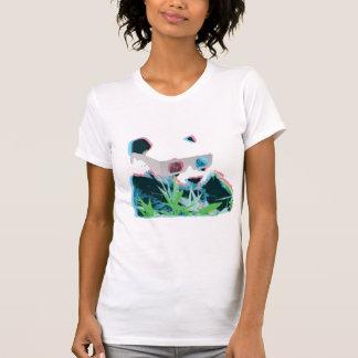 panda 3D Camisetas