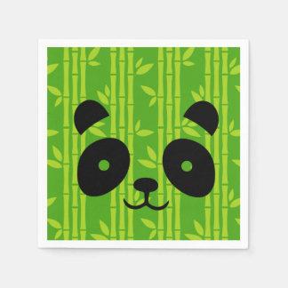 panda_bamboo servilleta de papel