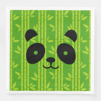panda_bamboo servilleta desechable