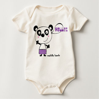 panda body para bebé