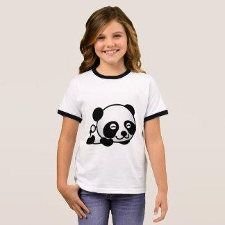 Panda Camiseta Ringer