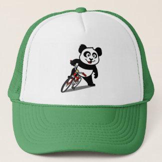 Panda de ciclo linda gorra de camionero