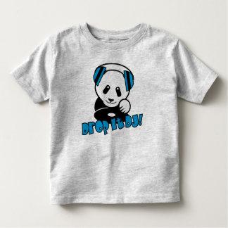 ¡Panda de DJ - cáigala DJ! Camiseta De Bebé