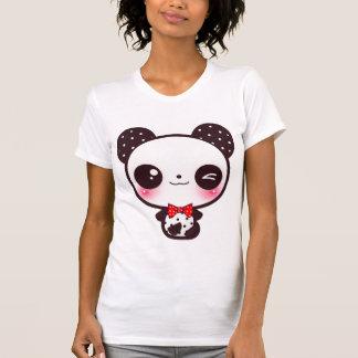Panda de Kawaii Camisetas