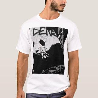 Panda de la pintada camiseta