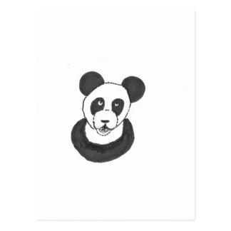 Panda de risa tarjetas postales