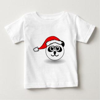 Panda de Santa de la camiseta del navidad