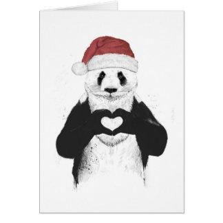 Panda de Santa Tarjeta