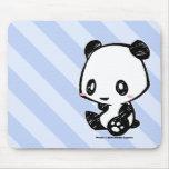 Panda de Weetle Alfombrilla De Ratón