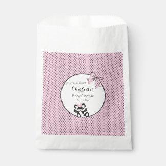 Panda del bebé bolsa de papel