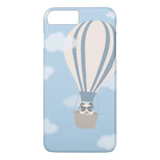 Panda del inconformista en el globo del aire funda iPhone 7 plus