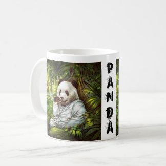 panda del malo de la taza