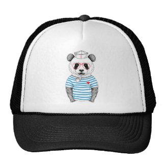 Panda del marinero gorra