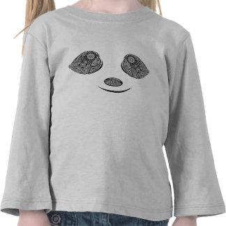 Panda feliz camiseta