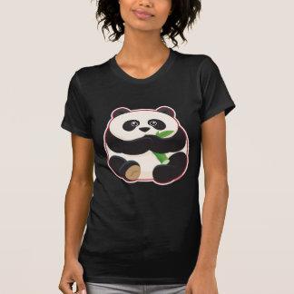 Panda gorda camisetas