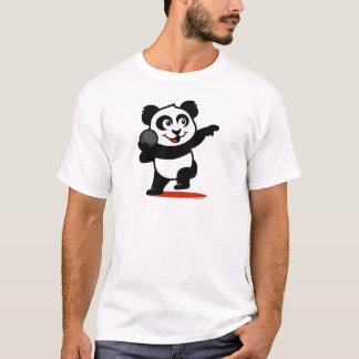 Panda lanzamiento de peso camiseta