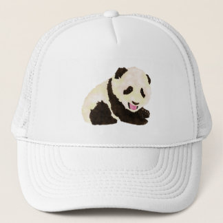 Panda linda gorra de camionero