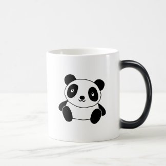 Panda linda taza mágica