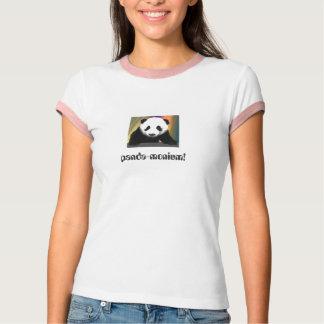 ¡panda-monium! camiseta