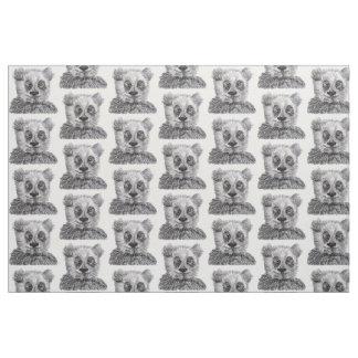 "Panda que dibuja la tela del algodón de Pima (54"""