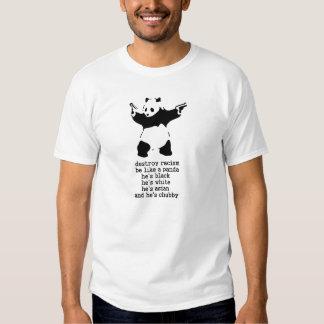 Panda rechoncha camiseta