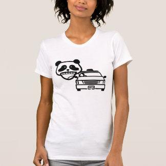panda salvaje camiseta