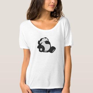 panda soñolienta del tiempo camiseta