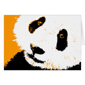 panda. tarjeta