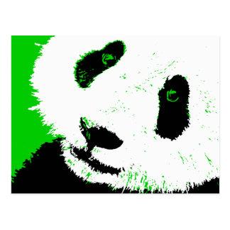 panda. tarjeta postal