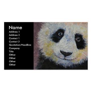 Panda Plantillas De Tarjetas De Visita